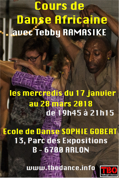 African dance course - Arlon - 2017-2018